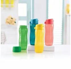 Plastic Tupperware Aqua Slim Water Bottle, For Multi-purpose, Capacity: 500 Ml