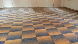 Glossy Carpet Tiles Flooring Services