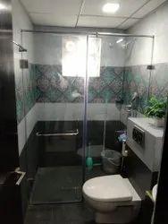 Shower Enclosure Glass Work