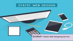 Static Web Designing Services, With 24*7 Support