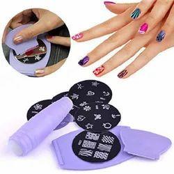 Multicolor Nail Art Stamping Kit