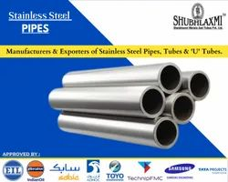 EIL Approved Stainless Steel Welded Pipes