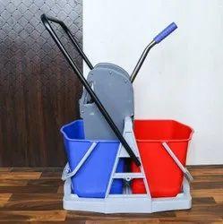 Double Bucket Wringer Trolley