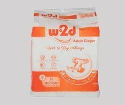 Adult Diaper W2D M-10