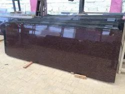 Polished 25mm Asian Top Granite Slab, For Countertops