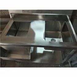 Ice Sink Table From Top