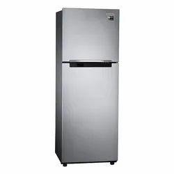 3 Star Silver Samsung 253 Liters Double Door Refrigerator
