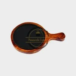 Metal Brown Restaurant Sizzler Plate, Packaging Type: Box, Size: 20 cm
