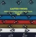 Laffer Finish 100% Cotton Heavy Double Laffer Finish Shirting Fabric