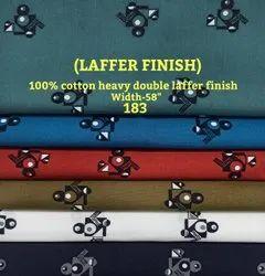 Laffer Finish 100% Cotton Heavy Double Laffer Finish Shirting Fabric