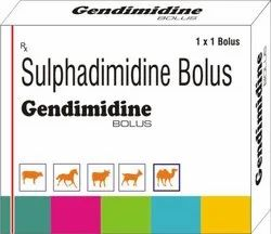 Sulphadimidine Bolus, Packaging Size: 1x4, Packaging Type: Strip