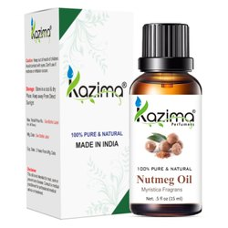 KAZIMA 100% Pure Natural & Undiluted Nutmeg Oil