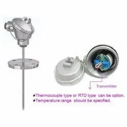 RTD Head Mounted Temperature Transmitter