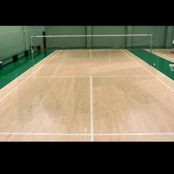 KTR Badminton Court Mapple Wooden Imported