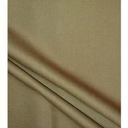 Trovin Uniform Fabric, Plain/Solids, Khaki Colour