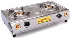 Auto Ignition Double Burner Gas Stove