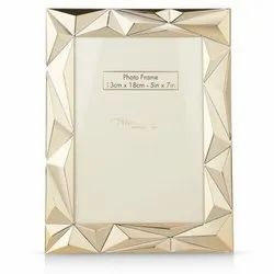 Golden Abstract Photo Frame