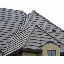 Profile Color Coated Concrete Roof Tiles, Dimensions: 10 X 7 Inch