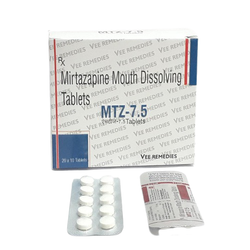 Mirtazapine Mouth Dissolving Tablet