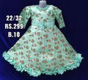 Girls Fancy Net Frock