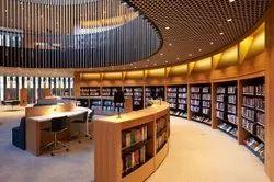 1 Year Library Interior Designing Service