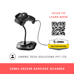 Zebra DS2208 2D Barcode Scanner