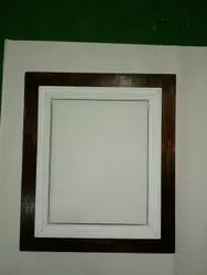 Brown Wooden Picture Frame, For Home, Size: 8x5