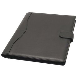 Genuine Leather Folder, For Office, Size: 10*15