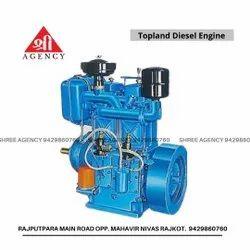 Topland Double Cylinder Diesel Engine
