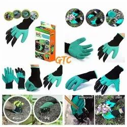 Garden Genie Gloves With Built In Claws For Digging Planting Nursery Plants, Garden Gloves (701-1)