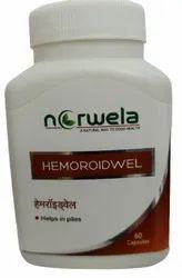 Norwela Hemoroidwel Herbal Piles Capsule, Packaging Type: Bottle, Grade Standard: Medicine Grade