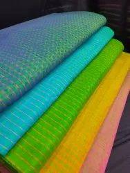 Mangalagiri Darbi Cotton Unstitched Fabric, Block Print