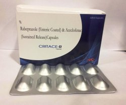 Rebeprazole Sodium (EC) & Aceclofenac (SR) Capsules