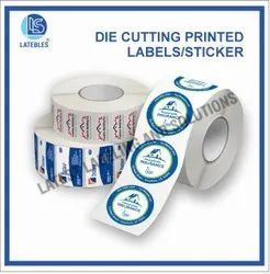 Printed Die Cut Labels