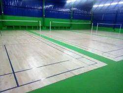 Indoor Badminton Court Flooring