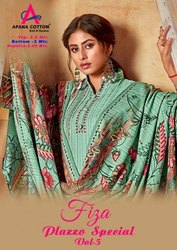 Apana Cotton Fiza Plazzo Special Vol 5 Printed Cotton Dress Material Catalog