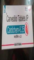 Cardichem (Carvedilol) Tablet