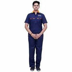 Blue Unisex Factory Uniform Manufacturers, For Industrial