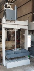Hydraulic Baling Press For Woven Sacks