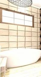 Porcelain Mosaic White Bathroom Wall Tiles, Size: 800*800mm, Thickness: 5-10 mm
