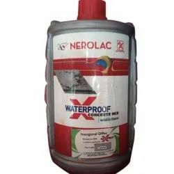 Nerolac X Waterproof Concrete Mix, For Construction, Packaging Type: Plastic Bottle