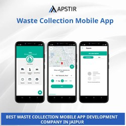 English Offline & Online Waste Collection Mobile App, Development Platforms: Android