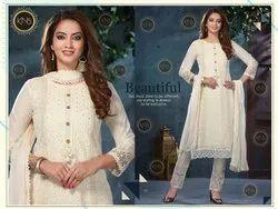 Ladies Designer Cotton Kurti Pant Set
