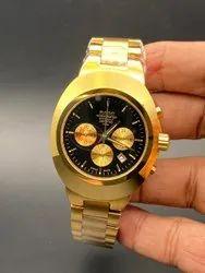 Round Luxury(Premium) Rado Diastar Mens Wrist Watches, For Formal