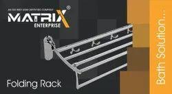 Stainless Steel Folding Rack