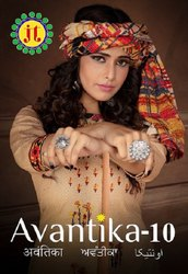 JT Avantika Vol 10 Printed Cotton Readymade Suit Catalog