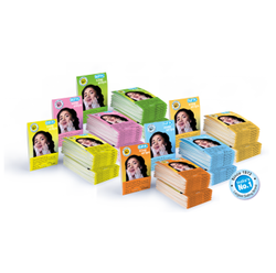 Coconut Oil Bufin Paper Soap Booklets, For Personal