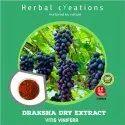 Powder Draksha Dry Extract Vitis Vinifera, Packaging Type: Hdpe Drum