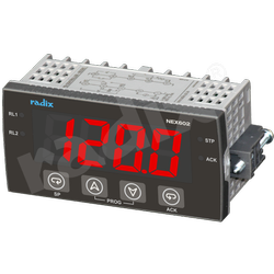 96x48 Mid-Range PID Controller, NEX602, Upto 2 Relays