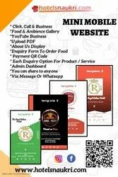Static Mobile Website Service, With 24*7 Support